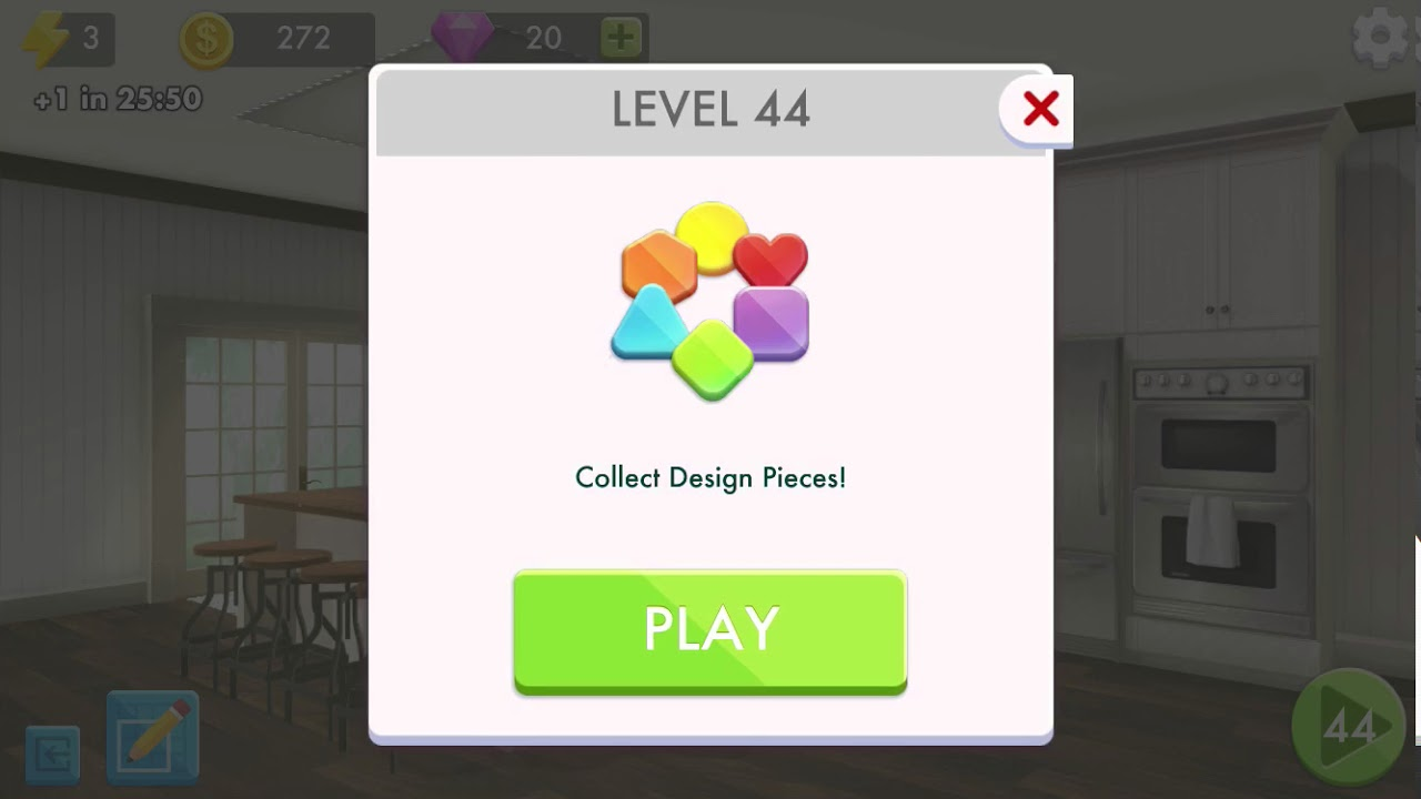 Home Design Makeover! Level 44 - YouTube
