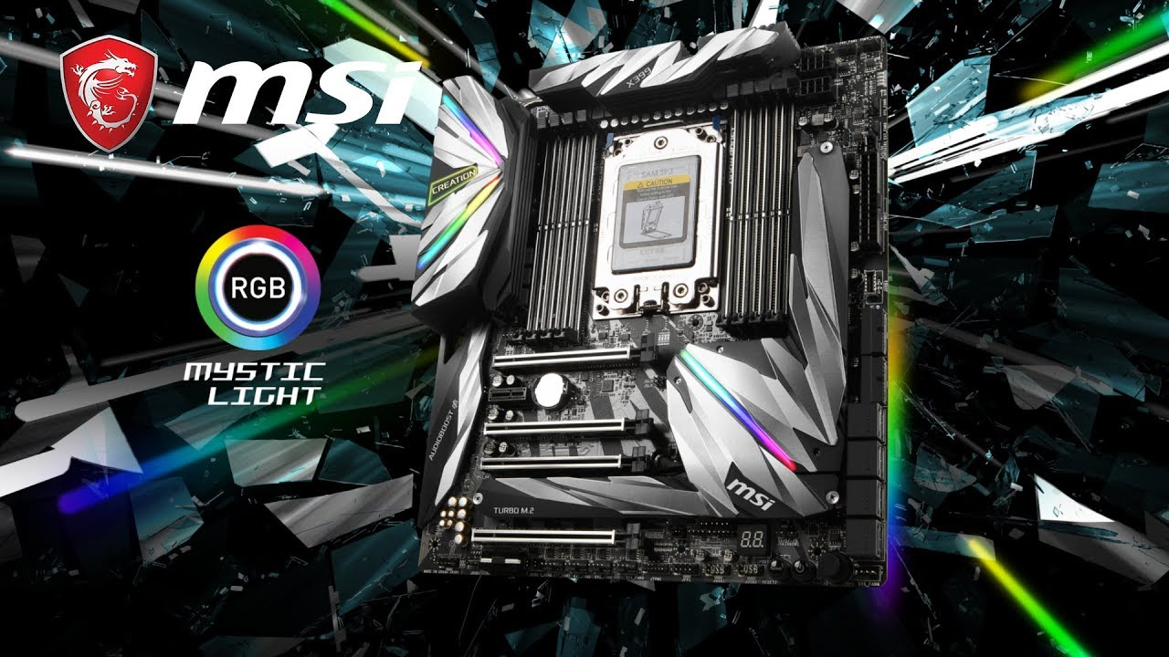 Create your Masterpiece with MEG X399 CREATION| Motherboard | MSI
