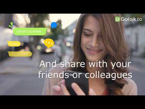 Gotalk - Instant video chat in your browser on iOS