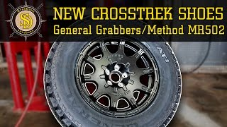 New Shoes For My Crosstrek! - General Grabber AT2 + Method Rally Wheels - Overview