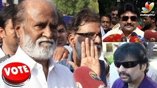 Rajinikanth Speech : Fulfill the Election promises or resign | Nadigar Sangam 2015