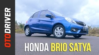 Honda Brio Satya 2017 Review Indonesia | OtoDriver