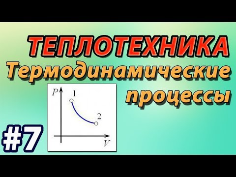 Основы теплотехники. Лекция #7. Термодинамические процессы.