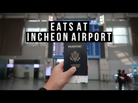 My Last Day in Seoul Incheon Airport Food - vlog #027
