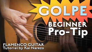 The golpe is one of those quintessentially flamenco techniques - we hit guitar with our nail or finger for a satisfying percussive thwack! in this video ...