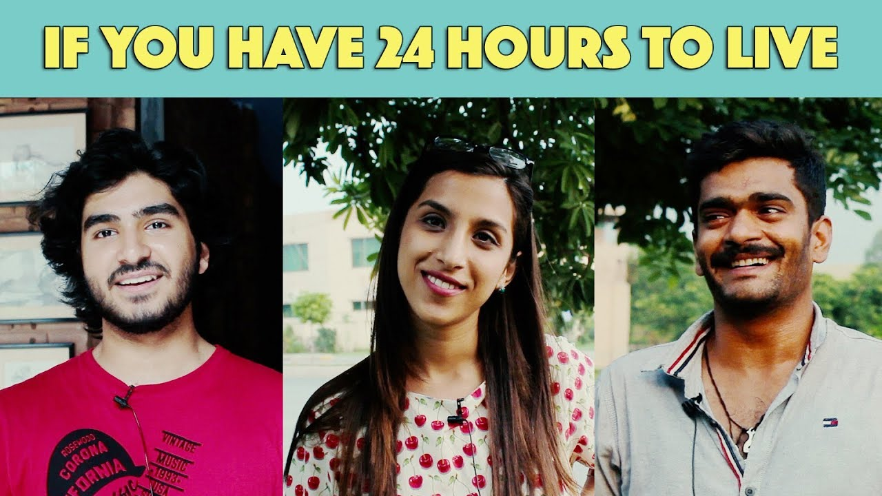 Bolo Pakistan | If You Have 24 Hours To Live | MangoBaaz