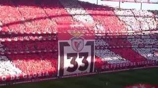 Repeat youtube video Benfica Hino,lindo,arrepiante,jogo com o Sporting.