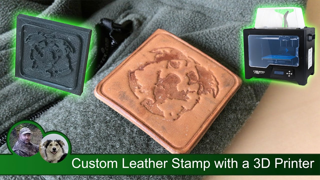 leather bracer with 3D printed plate