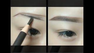 Hướng dẫn kẻ chân mày - Eyebrow Tutorial - Easy Eyebrow Tutorial For Beginners P4