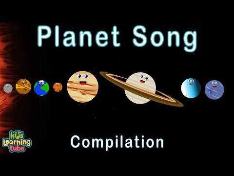 Planet Song for Kids/Solar System Songs for Children/40 Minute Compilation