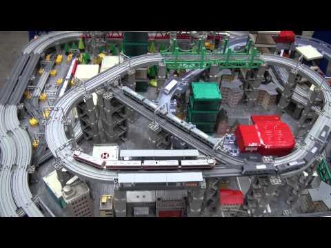 プラレール・アドバンスのレイアウト国際鉄道模型コンベンション2012