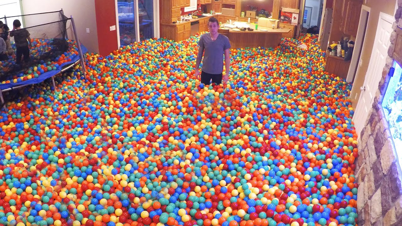 Crazy Plastic Ball PRANK!! - YouTube