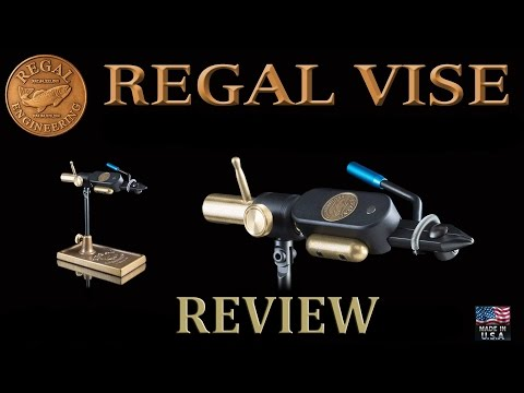 Regal Fly Tying Vise Review - Regal Revolution