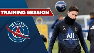 TRAINING SESSION : LILLE vs PARIS SAINT-GERMAIN
