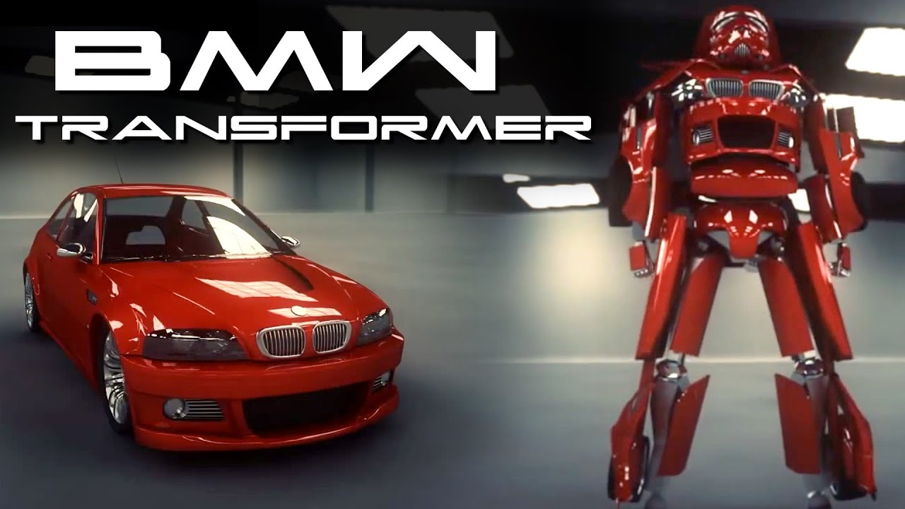 BMW Transformer Car   Behold The Future   YouTube