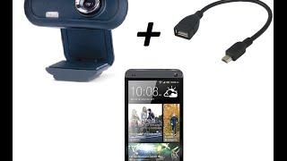 Как подключить USB камеру к смартфону через OTG кабель(Сылка - https://play.google.com/store/apps/details?id=com.vaultmicro.camerafi., 2015-03-01T17:44:26.000Z)
