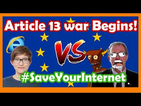 Article 13/17 final vote- LIVE