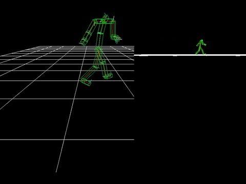 3D Skeletal Animation System in C