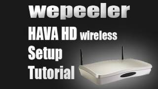 Hava HD Wireless Setup Tutorial Xbox 360 PS3