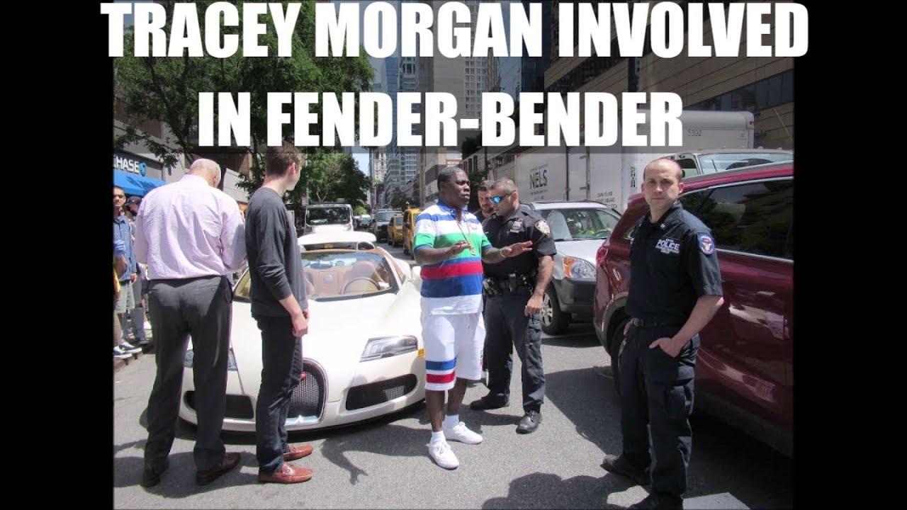 Tracy Morgan Involved In NYC Fender Bender In His Bugatti