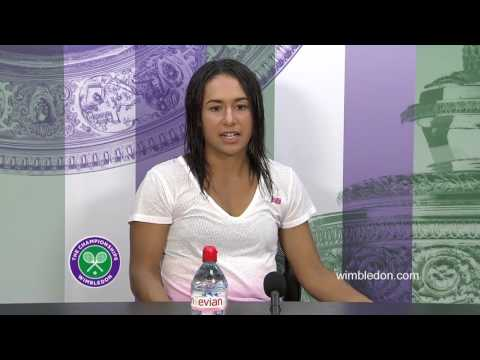 Heather Watson mixed doubles semi-final press conference