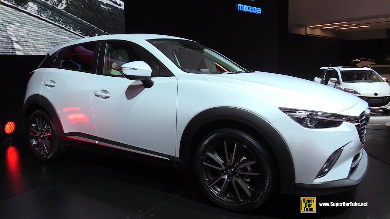 2016 Mazda Cx 3 Skyactiv Exterior And Interior