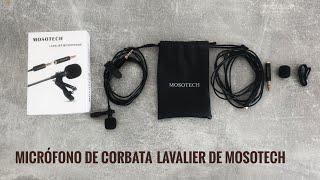 Micrófono LAVALIER De Mosotech, Reseña, Review. (2020) Micrófono De Corbata