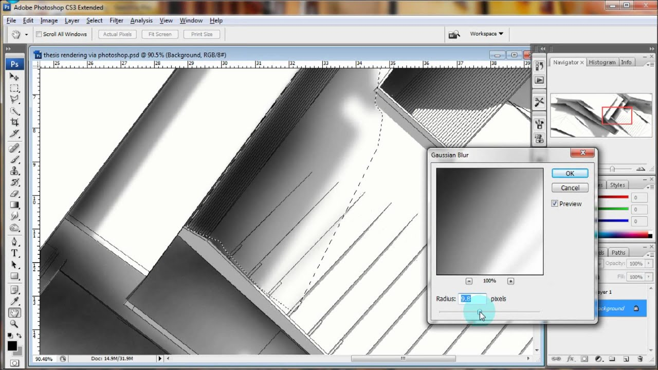 Architectural Elevation: SketchUp Rendering Tutorial