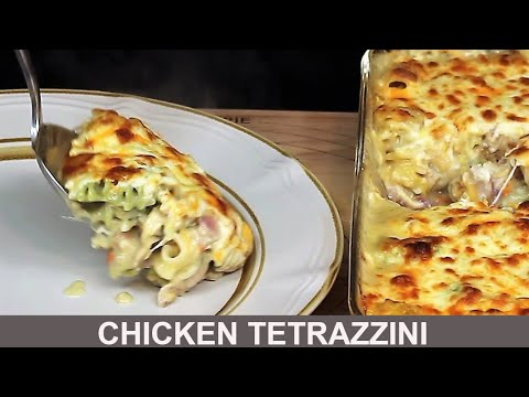 Chicken Tetrazzini Tasty Pasta Recipe
