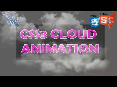Cloud Animation Css3 | Html In Hindi | Moving Images |By Amazing Techno Tutorials