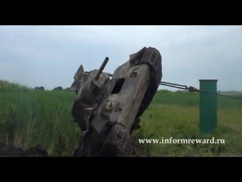 Подъем танка Т-34/76