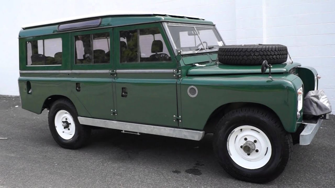 land rover series 109 restomod with defender upgrades youtube. Black Bedroom Furniture Sets. Home Design Ideas