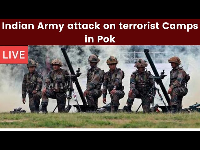 Indian army attacks terrorist camps-telugu breaking news-10/20
