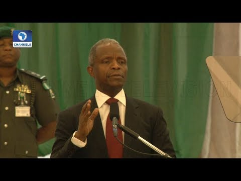 Download Youtube: Osinbajo Accuses Jonathan Of Sharing N150bn Before 2015 Elections