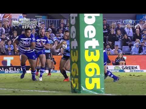 NRL Highlights: Cronulla Sharks v Canterbury Bulldogs - Round 11