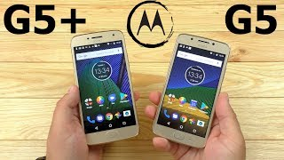 Moto G5 VS Moto G5 Plus Стоили ли переплачивать?