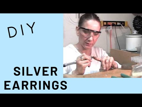 Silversmyth Sterling Silver Ball Earring Tutorial