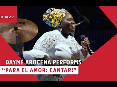"Daymé Arocena Performs ""Para El Amor: Cantar!"""