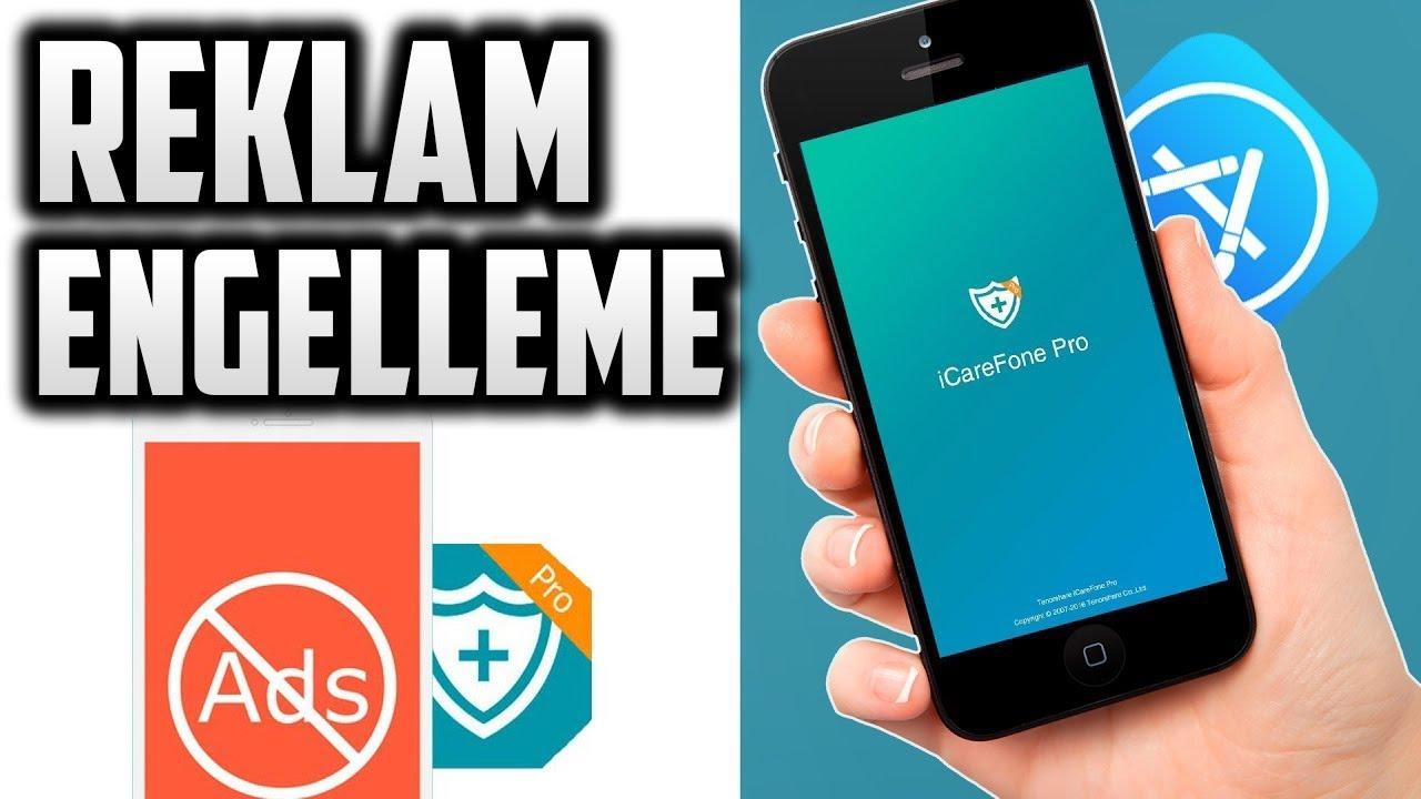 iPHONE HİLELERİ - REKLAM ENGELLEME * ADBLOCK - iCAREFONE PRO - YouTube