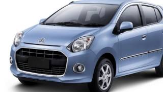 █▬█ █ ▀█▀ daihatsu ayla 2013 indonesia exterior and interior slide picture review