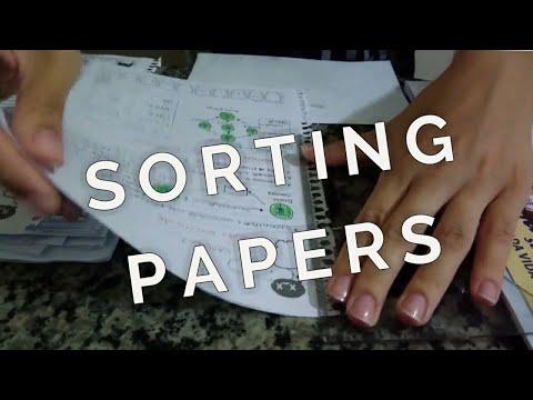 ASMR - Sorting Papers