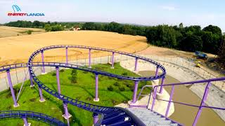 FRIDA Roller Coaster POV - Energylandia Amusement of Park Poland