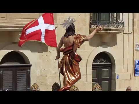 Girja bl-Irxoxt tal-Birgu/ Easter Sunday,  1 April 2018