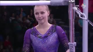 Daria Spiridonova (RUS) Uneven Bars TF 2019 Worlds D-Score (2017-20 Code)