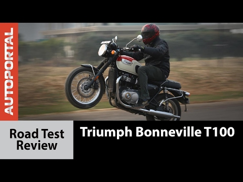 Triumph Bonneville T100 - Test Ride Review - Autoportal
