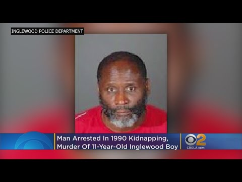 Man Arrested In 1990 Kidnapping, Murder Of 11-Year-Old Inglewood Boy