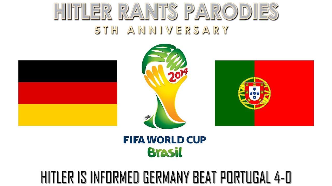Hitler is informed Germany beat Portugal 4-0