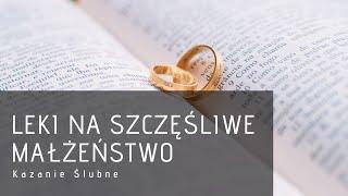 Ks  Łukasz Leśniak - Kazanie ślubne