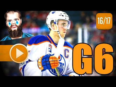 Edmonton Oilers vs San Jose Sharks. 2017 NHL Playoffs. Round 1. Game 6. April 22nd, 2017. (HD)