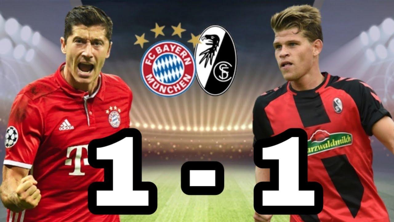 Bayern Vs Freiburg